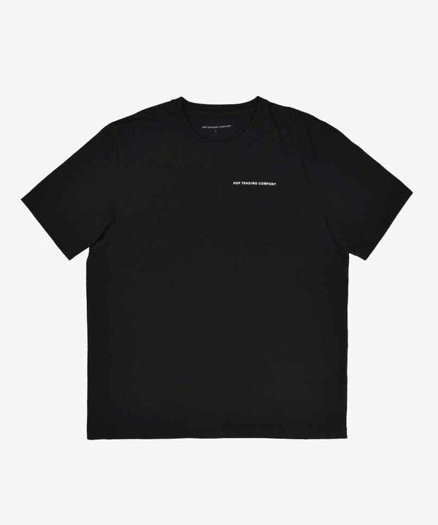POP Trading Company POP Logo T-shirt White/Black