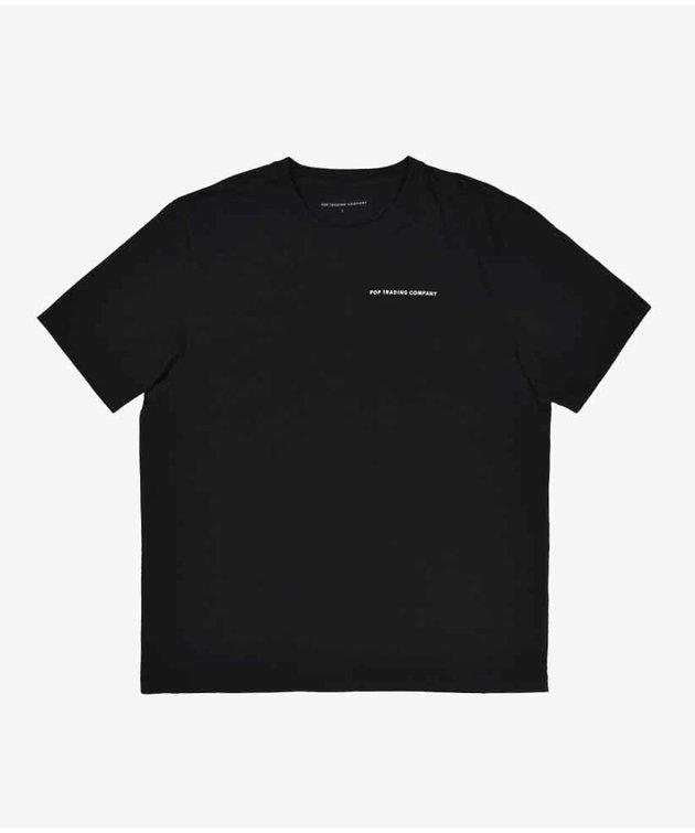 POP Trading Company POP NOS Logo T-shirt Black/White