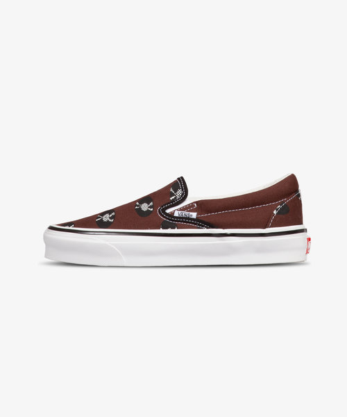 Vans Wacko Maria OG Classic Slip-On LX Brown