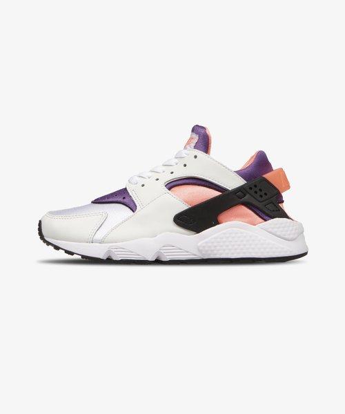 Nike Air Huarache White Purple Bright Mango