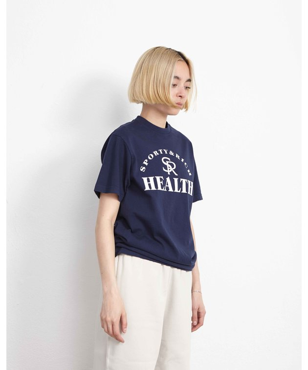 Sporty and Rich Sporty & Rich Ballgame Tee Blue