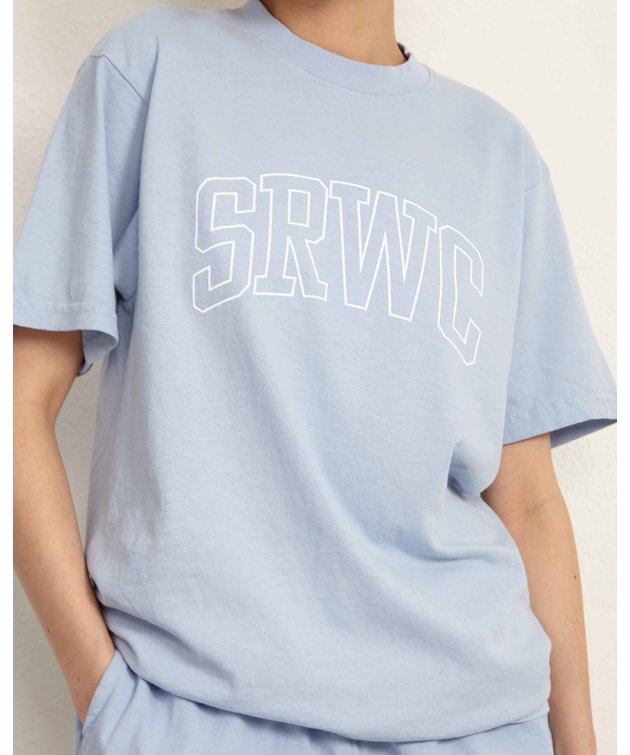Sporty and Rich Sporty & Rich Princeton Tee Blue