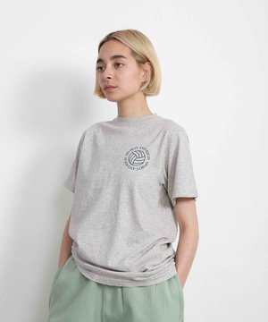 Sporty and Rich Sporty & Rich Volleyball Tee Heather Gray