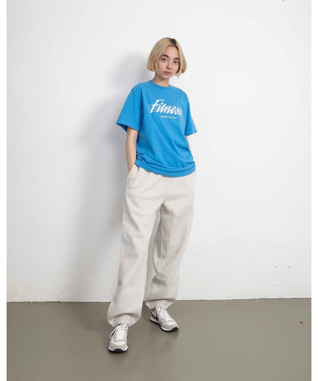 Sporty and Rich Sporty & Rich 80s Fitness Tee Sapphire