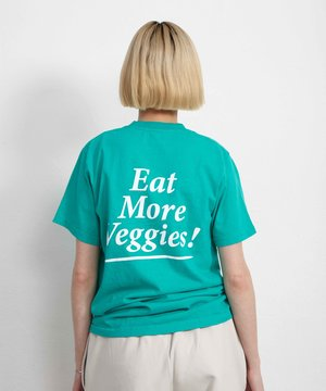 Sporty and Rich Sporty & Rich Eat Veggies Tee Tropical Green