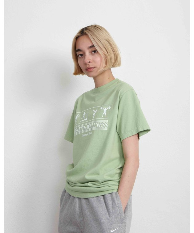 Sporty and Rich Sporty & Rich Health and Wellness Tee Menthe