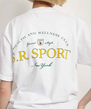Sporty and Rich Sporty & Rich Wimbledon Tee White