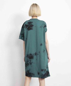 Aries Aries Toga Tee Dress Green/Black