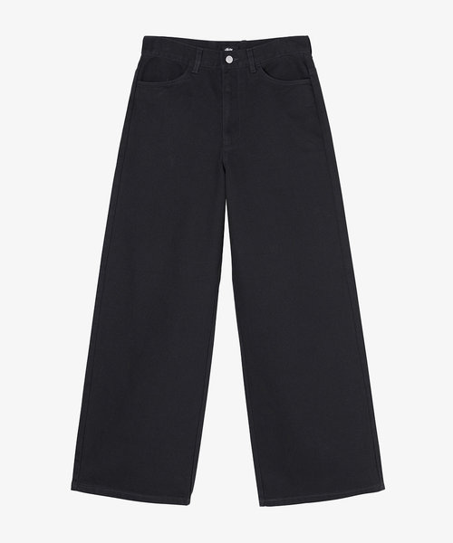 Stussy Carter Extra Wide Pant Charcoal
