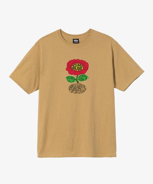 Stussy Sunflower Tee Khaki