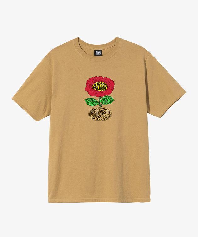 Stussy Stussy Sunflower Tee Khaki