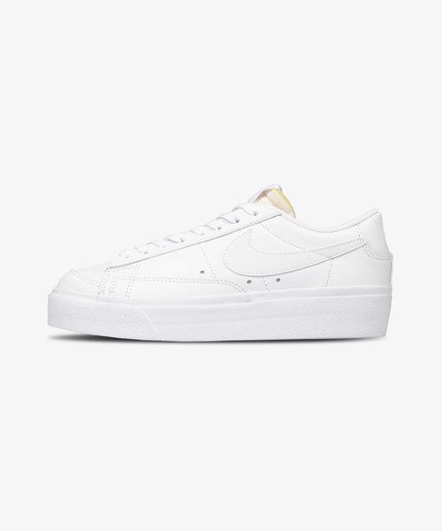 Nike Blazer Low Platform All White