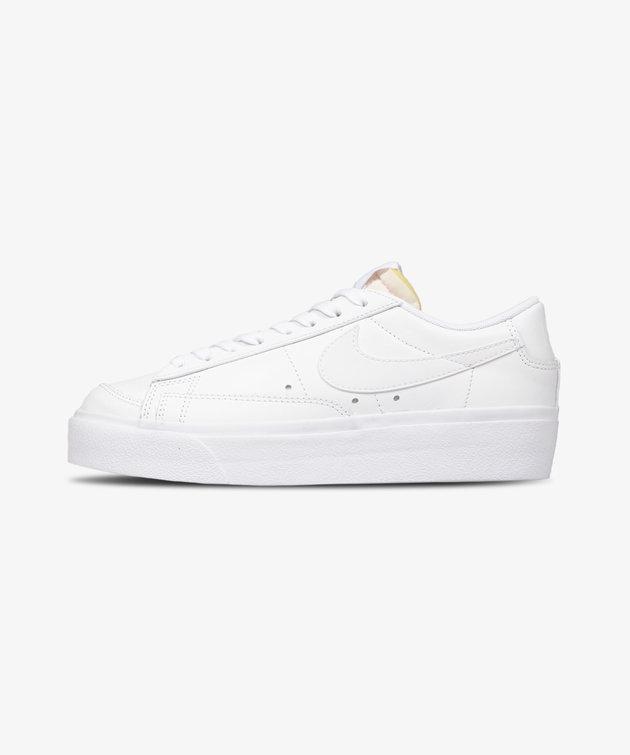 Nike Nike Blazer Low Platform All White