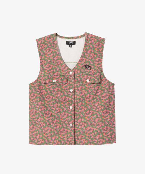 Stussy Sycamore Canvas Vest Multi