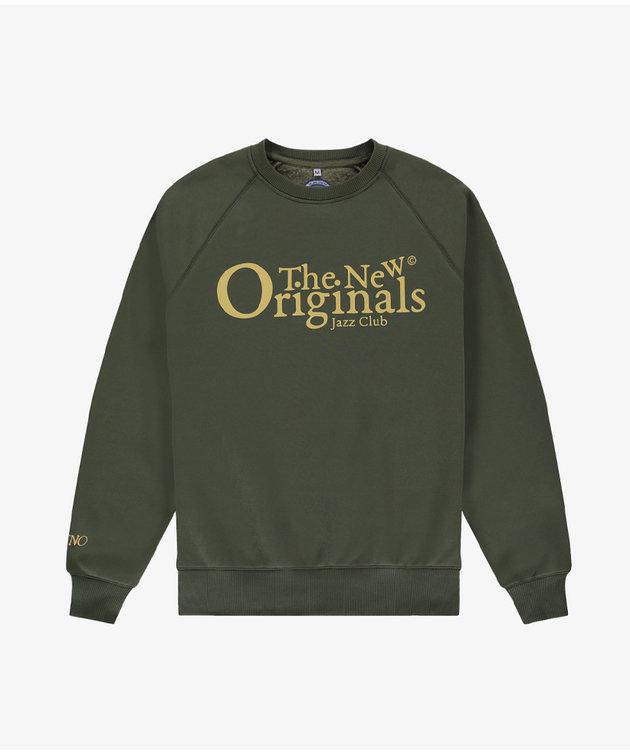 The New Originals TNO Jazz Club Crewneck Green