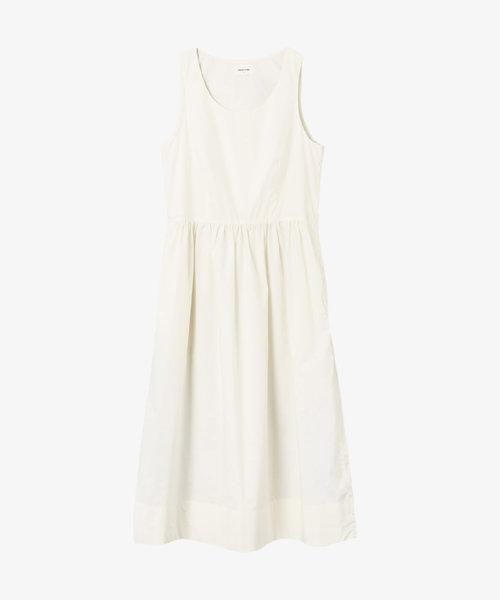 Wood Wood Tenna Poplin Dress Off-White