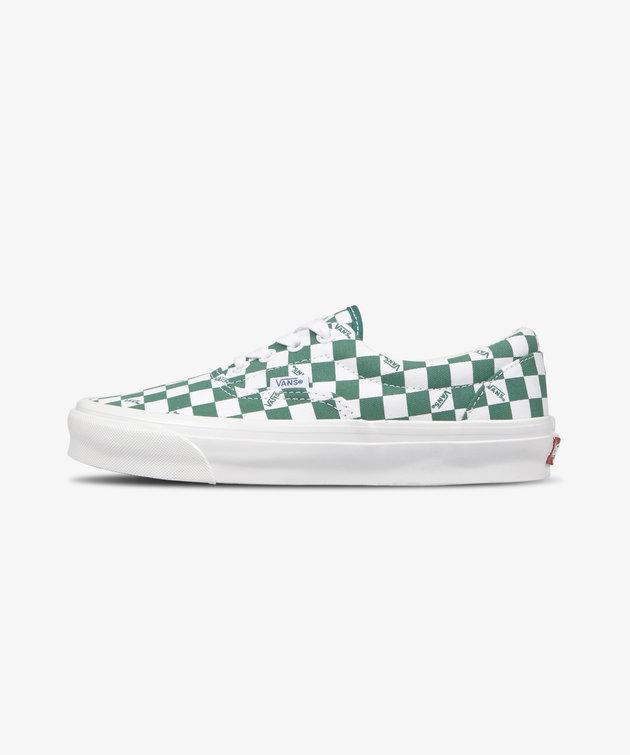 Vans Vans OG Era Lx Checkerboard Logo Green White