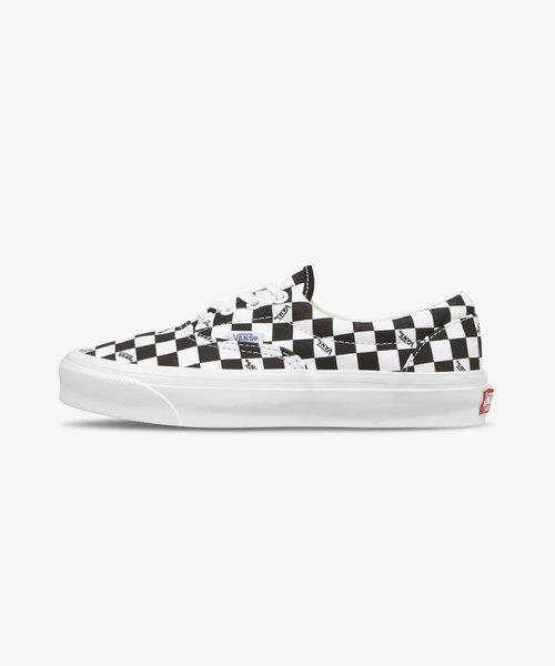 Vans OG Era Lx Checkerboard Logo Black White