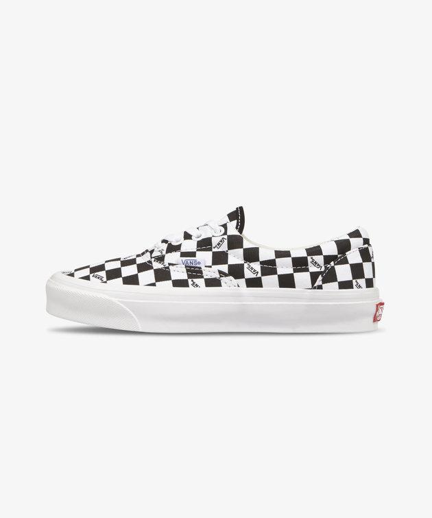 Vans Vans OG Era Lx Checkerboard Logo Black White