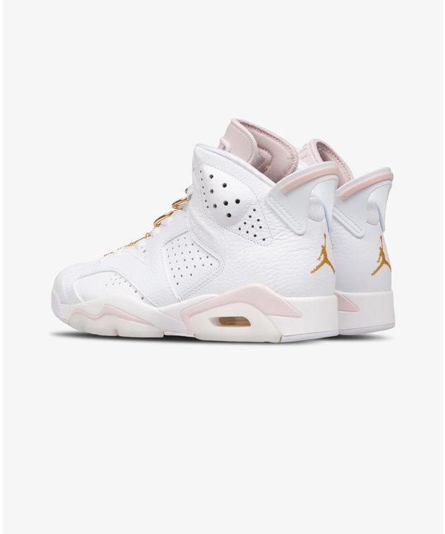 Nike Air Jordan 6 Gold Hoops