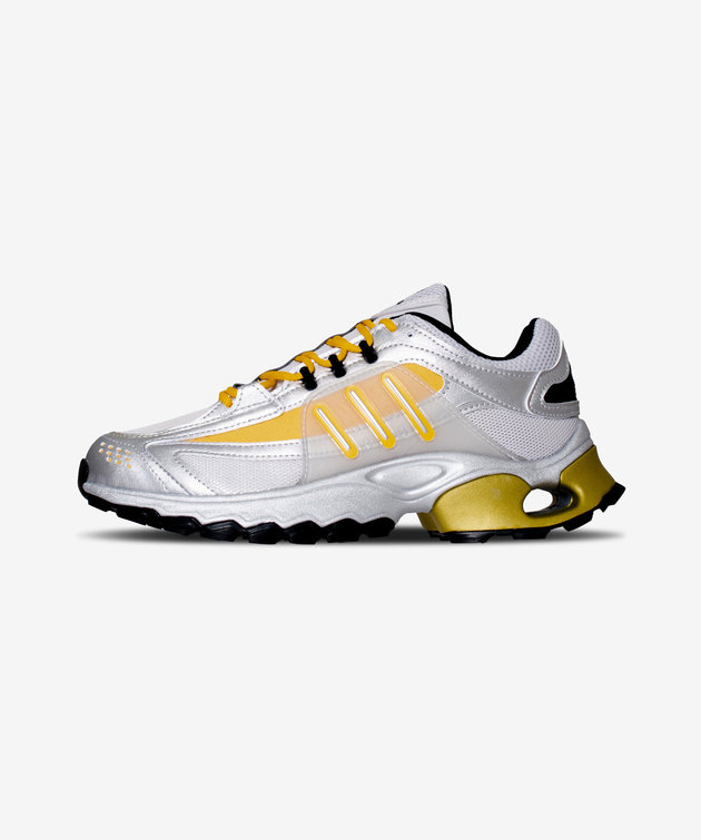 Adidas Adidas Thesia Silver Metallic/Crew Yellow