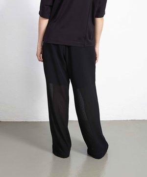 Y-3 Y-3 W Shade Airy Gauze Pants Black