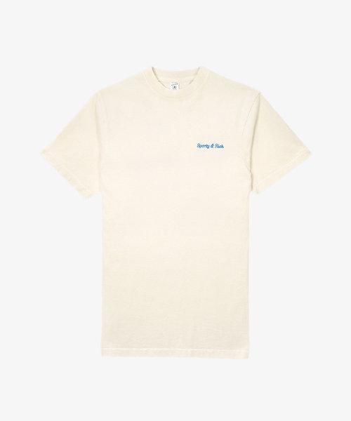 Sporty & Rich Classic Logo T-shirt Milk