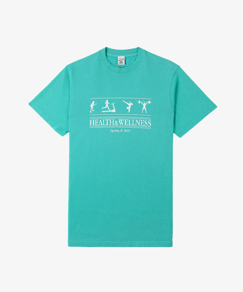 Sporty & Rich Health Wellness T-shirt Turquoise