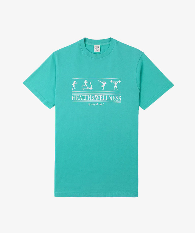 Sporty and Rich Sporty & Rich Health Wellness T-shirt Turquoise