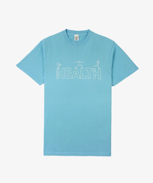Sporty and Rich Sporty & Rich Health T-shirt Sweet Blue