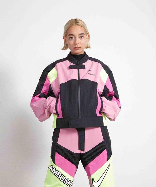 Nike X Ambush Motorcycle Jacket Magic Flamingo