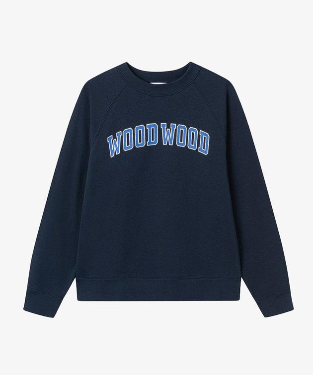 Wood Wood Wood Wood Hope IVY sweatshirt Navy