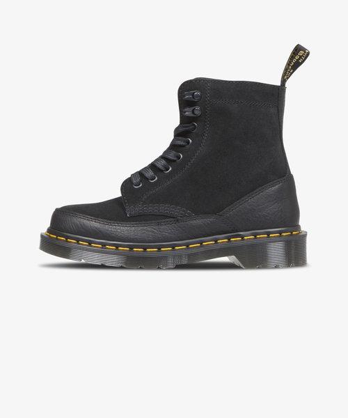 Dr Martens 1460 Guard 8 Eye Boot Black