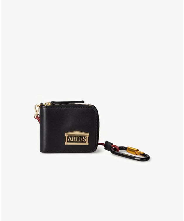 Aries Aries Leather Wallet Black