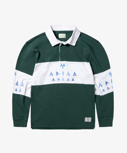 Aries Rugby Shirt Petrol