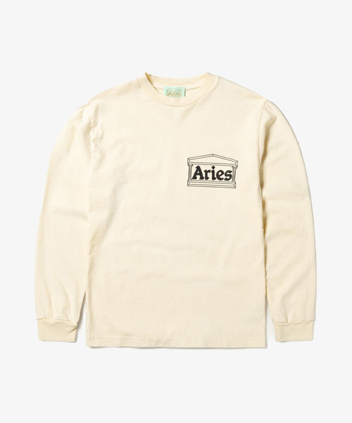 Aries Temple LS Tee Alabaster