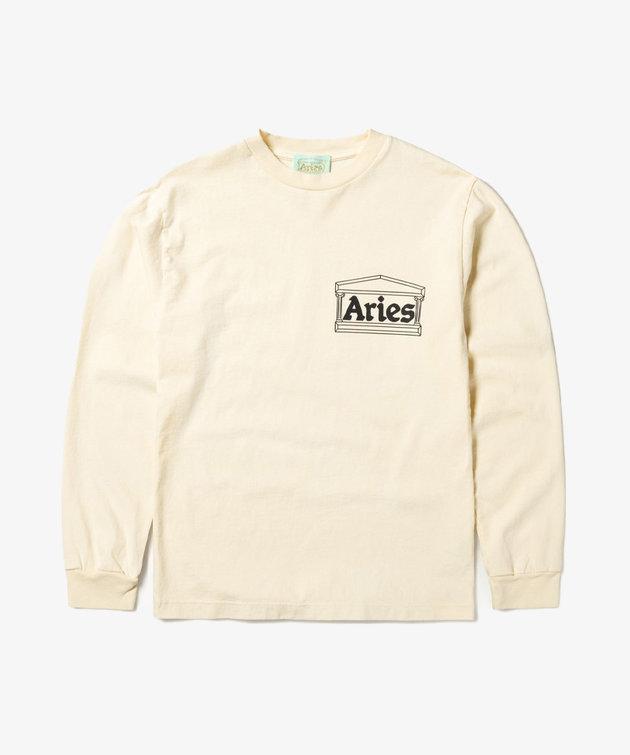 Aries Aries Temple LS Tee Alabaster