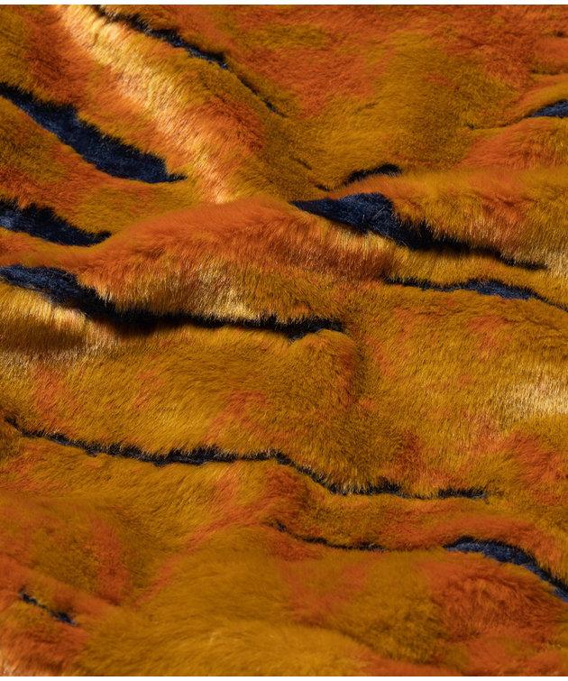 Aries Aries Reversible Mutant Tiger Fur Parka Multi