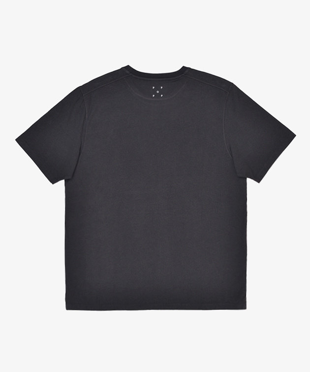 POP Trading Company POP Olympia T-Shirt Anthracite