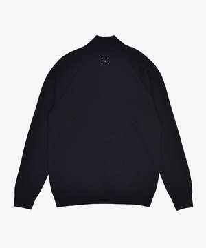 POP Trading Company POP Sportswear Company Halfzip Knit Black