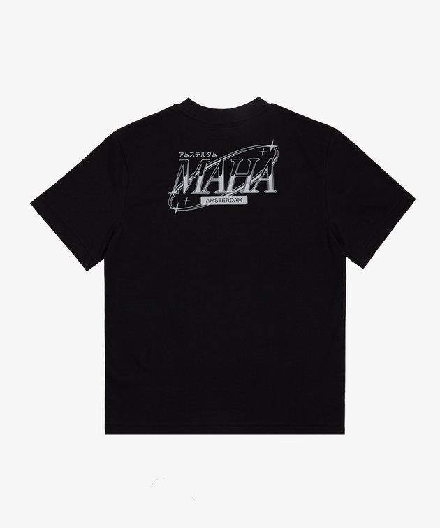 Maha Maha Moon Tee Black