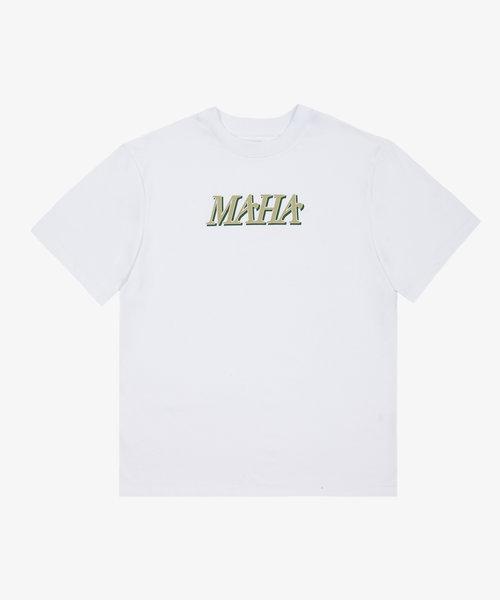 Maha Modern Tee White