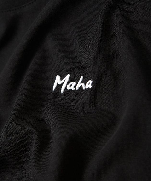 Maha Maha Logo Tee Black