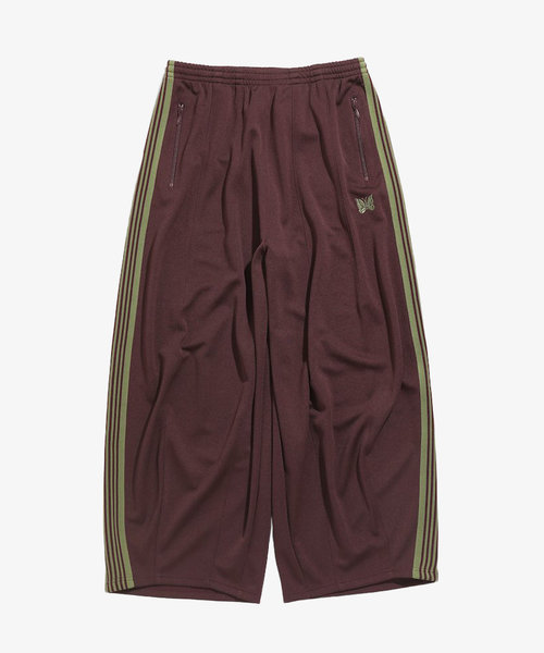 Needles H.D. Track Pant Poly Smooth Maroon