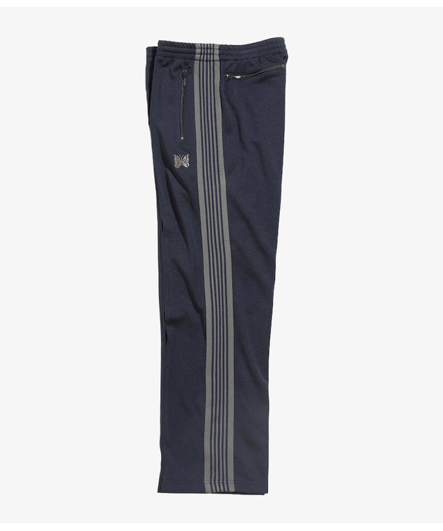 Needles Needles Track Pant Poly Smooth Navy