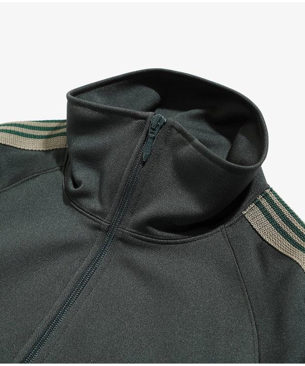 Needles Needles Track Jacket Poly Smooth Dark Green