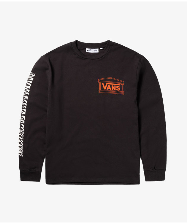 Vans Vans X Aries Poetry LS Tee Black