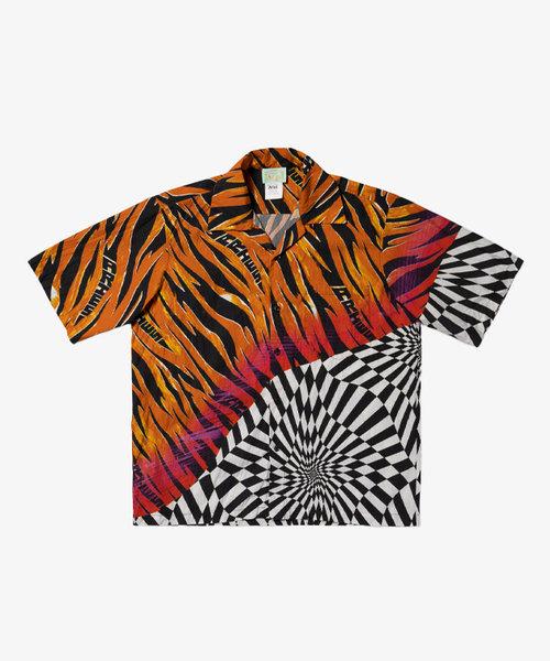 Vans X Aries Distorted Check Woven Shirt