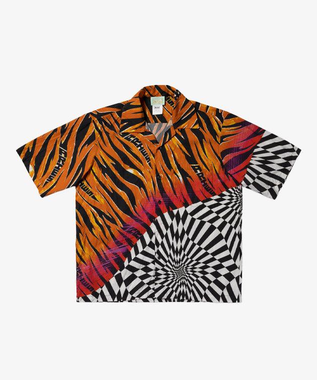 Vans Vans X Aries Distorted Check Woven Shirt