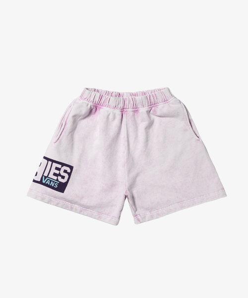 Vans X Aries Fleece Shorts Pink